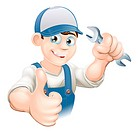 Thumbs up plumber or mechanic