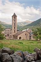 Ste  Eulàlia Church of Erill-La-Vall of Boí Valley