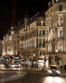 Regent Street, London, United Kingdom. Architect: Studio 29, 2012. Facade lighting.
