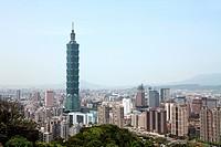 Taipei cityscape, Taiwan