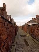 Old Northern British Cobbled Streets