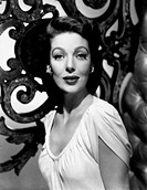 Portrait of American actress Loretta Young. 1950s.