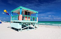 Miami Beach Lifeguard Hut, USA