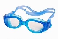 Swimming goggles isolated on white, includes clipping path