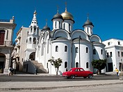 Our Lady of Kazan Russian Orthodox church in Havana