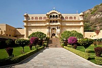The Samode Palace, near Jaipur, Rajasthan, India