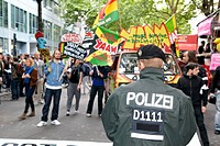 Demo against Gema planned tariffs, Berlin, Thursday, 06/09/20
