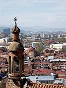 Ancient armenian_georgian church of Karap Surb Gevork, in the oldest part of georgian capital _ Tbilisi