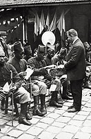UIG-911-05-1401116 Senegalese soldiers of the French colonial troops having a rest during World War I 1910s