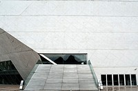Front side of Casa da Musica building in Port city, Portugal
