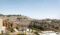 Panorama of Jerusalem city