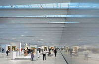 The Louvre Lens is a new outpost of the Musée du Louvre by Japanese architects SANAA and New York studio Imrey Culbert. It has