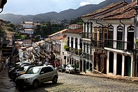Brazil, Minas Gerais, Ouro Petro
