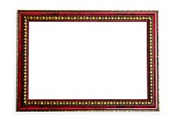 WR0987119 Picture frame isolated on the white