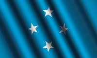 The Micronesia flag