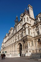 City hall of Paris, Ile de France, France
