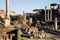 europe, italy, lazio, rome, roman forum