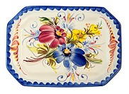 WR1010895 Ceramic plate with handwork drawing