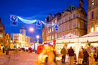 Christmas Market, Sheffield, South Yorkshire, Yorkshire, England, United Kingdom, Europe