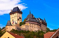 WR1012103 Castle Karlstejn in Czech Republic