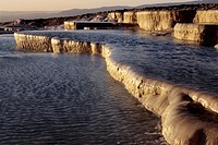 Pamukkale; Terrace Pools; UNESCO World Heritage Site; Turkey