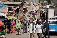 Street Scene, Jugol (Old Town) Harar, Ethiopia
