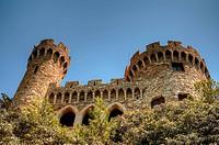 Castle Sant Joan in Lloret De Mar