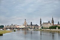 Panoramic view of Dresden, Germany