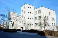 Fachhochschule Jena, University of Applied Sciences, former Zeiss factory, Jena, Thuringia, Germany