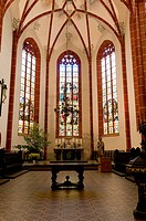 Church of St. John, St John's Church, Saalfeld, Thuringia, Germany, Europe