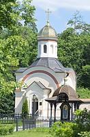 Chapel of celibate priest Vasily, monks Trophime a