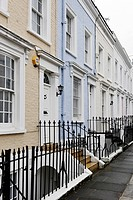 Single-family homes, residential area, Hillgate Place, Kensington, City of Westminster, London, England, United Kingdom, Europe