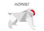 origami monkey