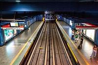 Local rail transportation in Santiago Chile