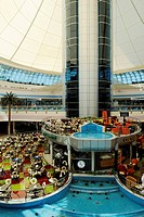 Arabia, United Arab Emirates, Shopping Center Marina Mall at Emirate Abu Dhabi