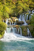 Croatia - Krka National Park, waterfall on the Krka River, Croatia