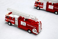 Toy Replica New York City Fire Engines