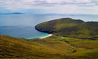 View of Keem beach, Achill Island, County Mayo, Ireland