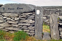 Entrance to the Holy Well on Inis Oirr, Arran Islands, County Galway, Ireland