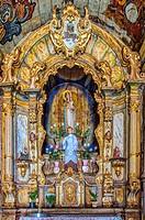 Capela de Nossa Senhora do Pilar, Interior, Sabara, Belo Horizonte, Minas Gerais, Brazil.