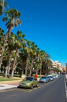Calle del Pozo street Puerto de la Cruz city Tenerife island the Canary Islands Spain Europe