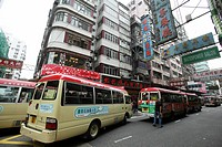 Causeway Bay shopping district, Hong Kong, China