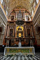 Altar of the Mezquita, Mosque–Cathedral of Córdoba, Cathedral of Our Lady of the Conception