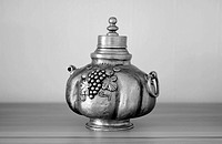 Old wine decanter