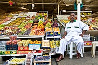 The market for fruit and vegetables, Deira (Dubai, United Arab Emirates)