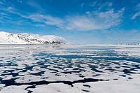 Monaco Glacier, Spitzbergen