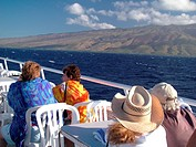 Maui, HI, Hawaii, Molokai Express, passenger ferry to Molokai