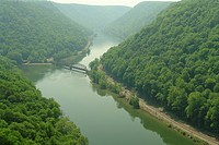Amsted, WV, West Virginia, Hawks Nest State Park