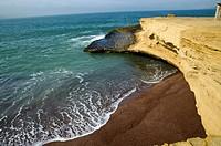 Paracas National Reserve. Red beach.