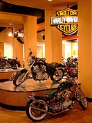 Daytona Beach, FL, Florida, New Harley Davidson Motorcycle Shop, showroom